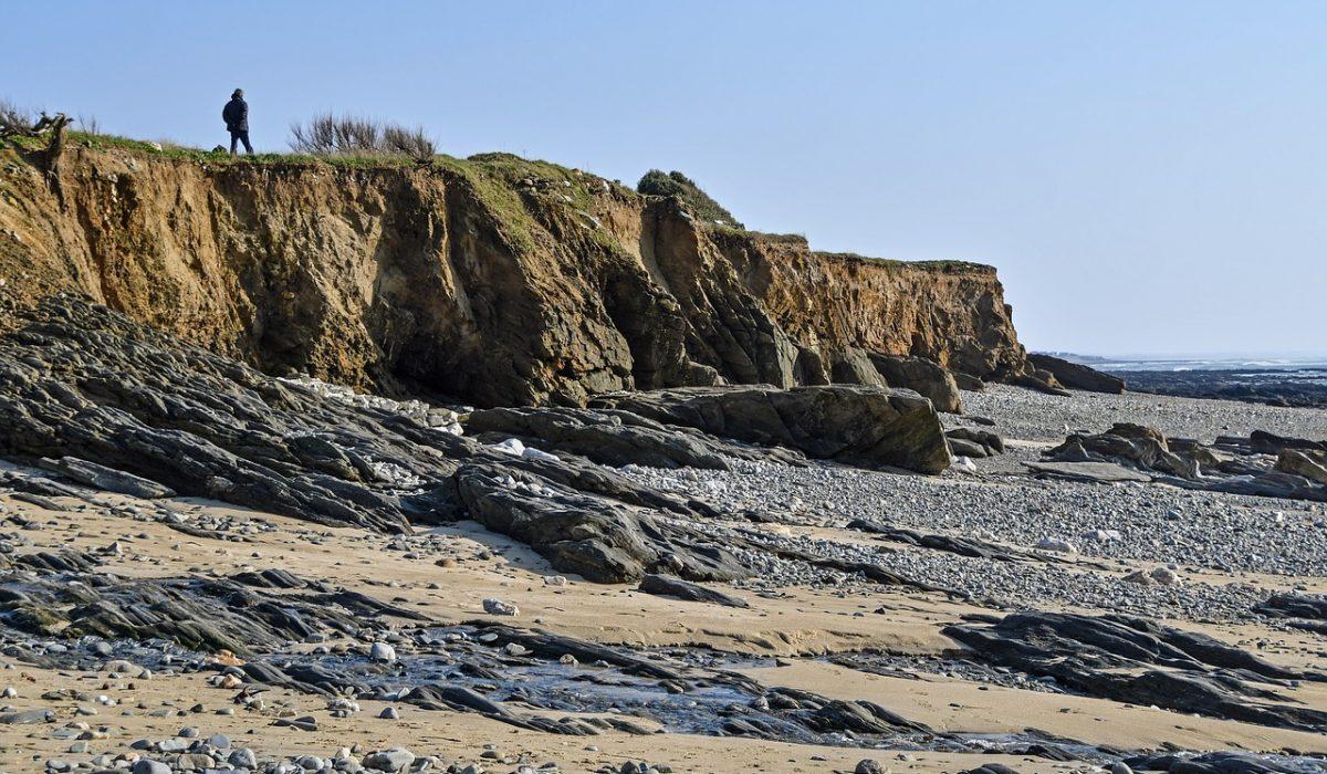plage à côté de Larmor Plage
